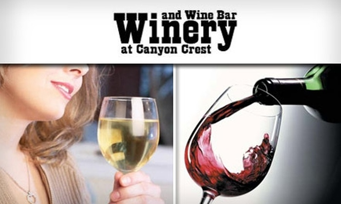 The Winery at Canyon Crest - Canyon Crest: $20 for $40 Worth of Wine at The Winery at Canyon Crest