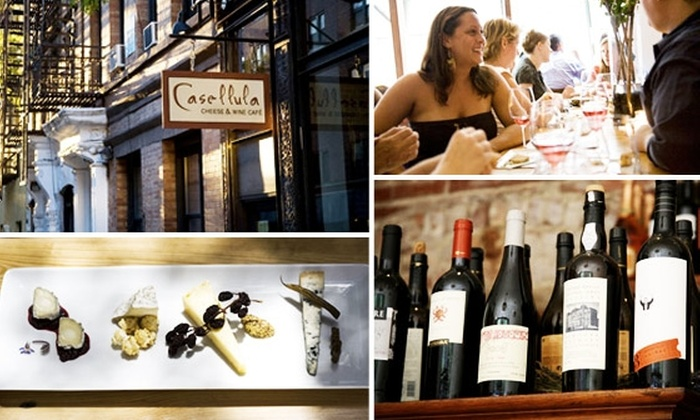 Casellula Cheese and Wine Cafe - Clinton: 60% Off Delectable Cheeses and Wines at Casellula