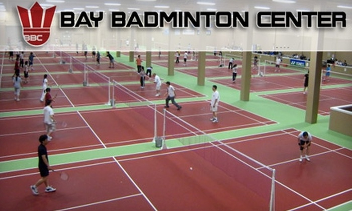 Bay Badminton Center - Multiple Locations: $13 for Drop-in Play, Racket Rental, and Six Shuttlecocks at Bay Badminton Center (Up to $26 Value)