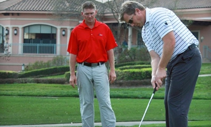 Aaron Fagan Golf Academy - Seralago: $69 for One Hour of Private Golf Instruction at the Aaron Fagan Golf Academy in Kissimmee ($175 Value)