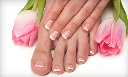 Basic Manicure and Pedicure (a $40 value) - Passions for Hair & Spa in Santa Rosa