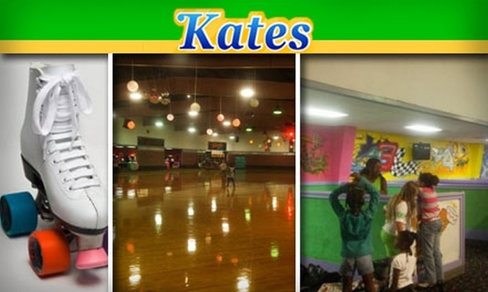 Kate's Skating Rink - Charlotte: $3 for Skate Rental and Admission to Kate's Skating Rink