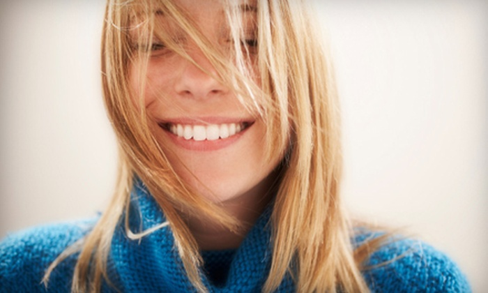 Sunlounge Spa - Multiple Locations: $99 for a Blue-Light-Teeth-Whitening Session at Sunlounge Spa ($300 Value)