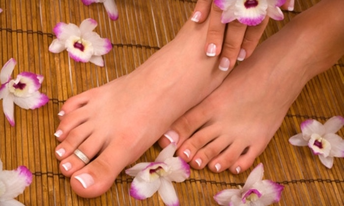 For Your Nails - Perinton: $20 for a Spa Pedicure at For Your Nails ($45 Value)