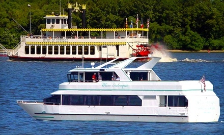 Dubuque River Rides: Good for 2 Tickets to a 2-Hour Eco/Historic Sightseeing Cruise (SundaysFridays) - Dubuque River Rides in Dubuque