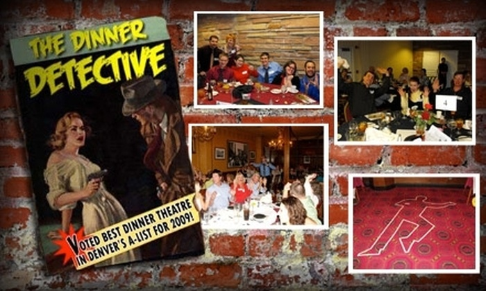 """The Dinner Detective"" - Northeast Colorado Springs: $40 for One VIP Admission to ""The Dinner Detective"" Murder Mystery Dinner Show"
