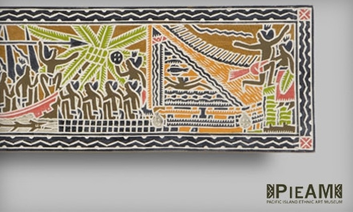 Pacific Island Ethnic Art Museum - Downtown Long Beach: $5 for Two Adult Admissions ($10 Value) or $69 for One-Year Ultimate Membership ($140 Value) at Pacific Island Ethnic Art Museum