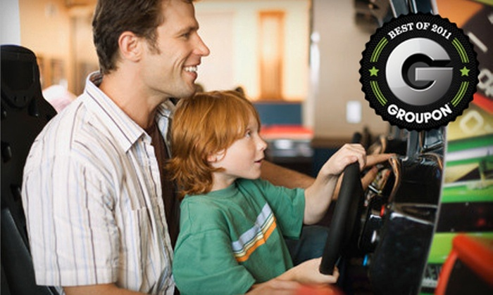 Shakers Fun Centre - Calgary: $99 for a Family Annual Passes at Shakers Fun Centre (Up to $319.80 Value)