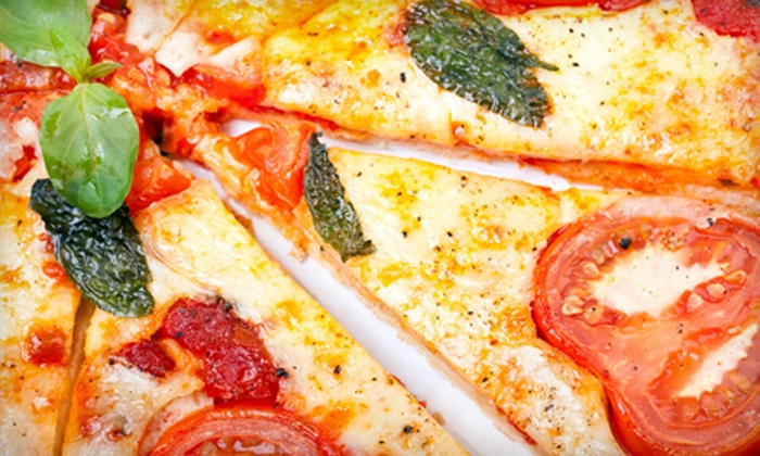 The Pizzeria - Raleigh / Durham: $8 for Pizza and Soda at The Pizzeria in Durham ($19 Value)