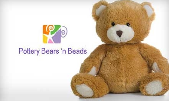 Pottery Bears 'n Beads - Largo: $12 for $24 Toward Create-A-Bear and Accessories at Pottery Bears 'n Beads in Clearwater