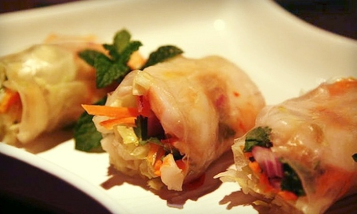 Full Moon - White Plains: $12 for $25 Worth of Thai-Inspired Fusion Cuisine and Drinks at Full Moon in White Plains