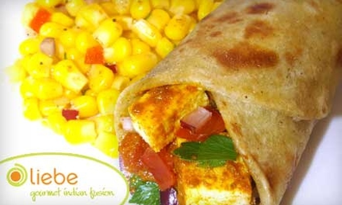 Liebe Gourmet Indian Fusion - NoLita: $3 for $6 Worth of Flavorful Indian Fare at Liebe Gourmet Indian Fusion