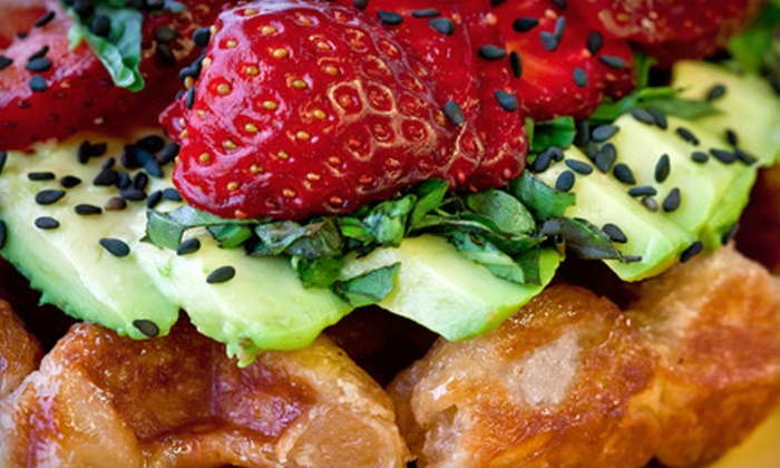 Off The Waffle - Amazon: $5 for $10 Worth of Liège Waffles and Breakfast Fare at Off The Waffle