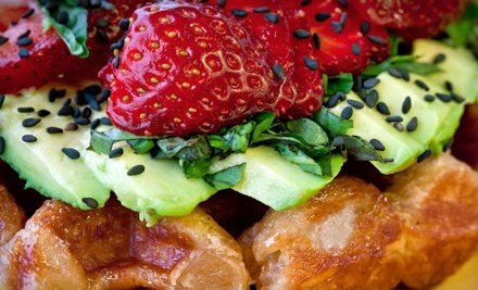 $10 Groupon to Off The Waffle - Off The Waffle in Eugene