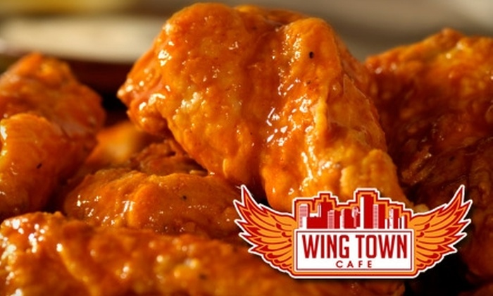 10 For Wings At Wing Town Cafe Lenas Soul Food Cafe Groupon