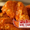 $10 for Wings at Wing Town Cafe