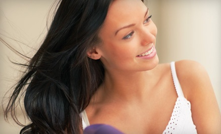 Classic Manicure and Pedicure (a $55 value) - A Head of Class Salon and Day Spa in Williamsville