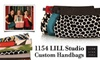1154 Lill Studio - Back Bay: $30 for $60 Worth of Custom Handbags and More at 1154 Lill Studio