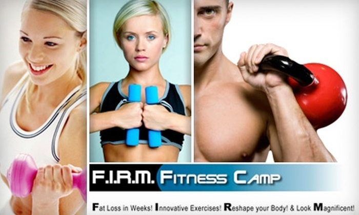 F.I.R.M. Fitness Camp - Metro West: $50 for a Four-Week Unlimited Boot-Camp Package at F.I.R.M. Fitness Camp ($197 Value)