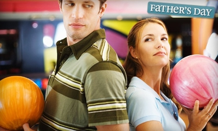 Hunter's Bowling Centres - Multiple Locations: $20 for One Hour of Bowling and Shoe Rentals for Up to Six People at Hunter's Bowling Centres (Up to $44 Value)