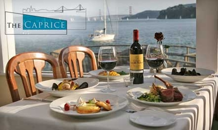 The Caprice - Tiburon: $25 for $50 Worth of and Fine Dining and Drinks at The Caprice