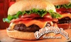 Goal Post Tavern - Knoxville: $10 for $20 Worth of Burgers, Sandwiches, and More at Goal Post Tavern