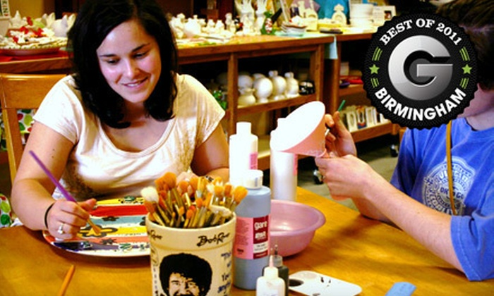 All Fired Up - Tuscaloosa: $15 for $30 Worth of Paint-Your-Own Pottery at All Fired Up in Tuscaloosa