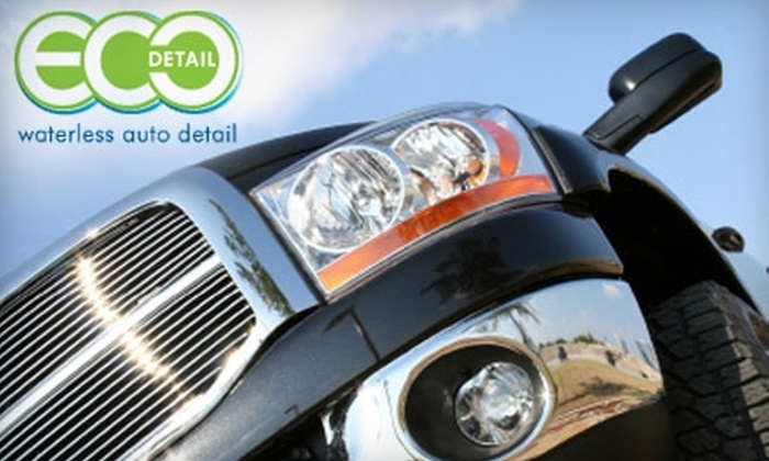 ECO Detail - Multiple Locations: $30 for a Car Wash and Sanitizing Treatment at Eco Detail