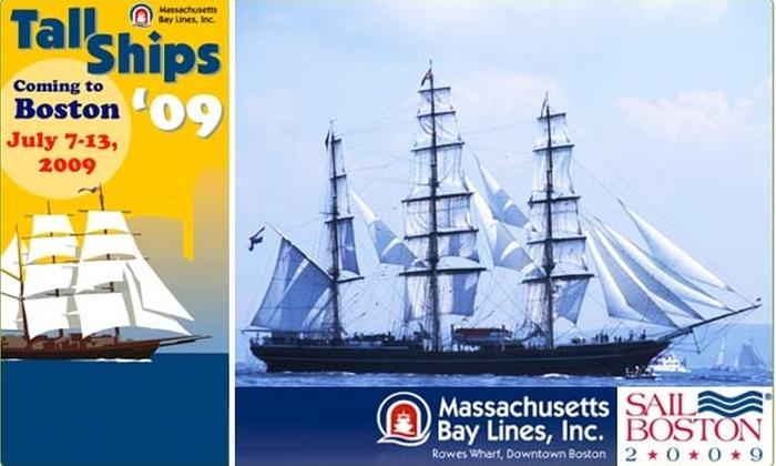 Massachusetts Bay Lines, Inc. - Boston: $24 for Harbor Cruise to See Tall Ships ($42 Value)