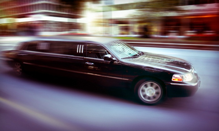 Red Limo Services - Minneapolis / St Paul: One-Way or One-Hour Limo Ride or Two-Hour or Round-Trip Limo Ride from Red Limo Services (Up to 53% Off)