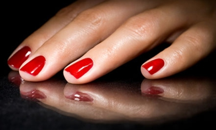 True Colors Concept Salon & Spa - Billings: $47 for a Full Set of Nail Enhancements and a Deluxe Spa Pedicure at True Colors Concept Salon & Spa ($95 Value)