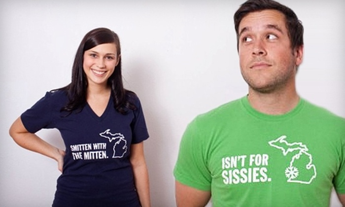 Michigan Awesome - SECA: $15 for $30 Worth of Michigan-Themed Apparel from Michigan Awesome