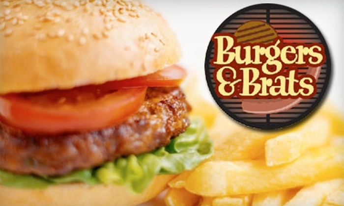 Burgers & Brats - Flower Mound: $5 for $10 Worth of Fare at Burgers & Brats in Flower Mound