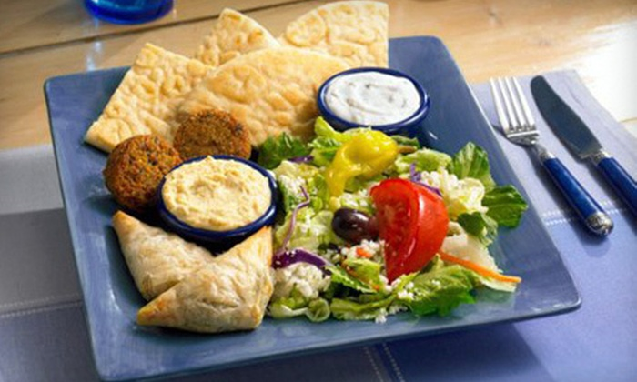 Dino's Gyros - Multiple Locations: $10 for $20 Worth of Greek Fare at Dino's Gyros. Five Locations Available.