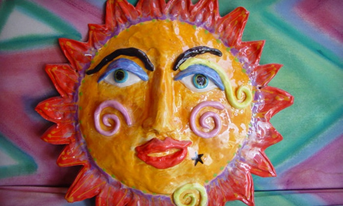 Sunfire Ceramics - Lawrence: $7 for $14 Worth of Pottery Painting and Glass Fusing at Sunfire Ceramics