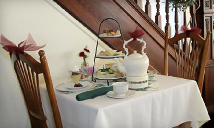 Simpson House Tea Room - West End: Royal Tea or High Tea for Two at Simpson House Tea Room in Chester Springs (Up to 54% Off)