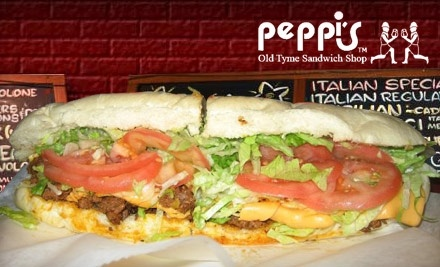 $16 Groupon to Peppis Subs - Peppi's Sandwich Shop in Pittsburgh