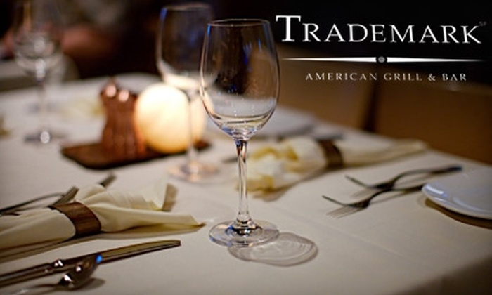 Trademark American Grill & Bar - Downtown: $25 for $50 Worth of High-End American Fare at Trademark American Grill & Bar