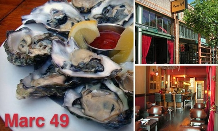Marc 49 - Temescal: $10 for $20 Worth of Casual Bites and Wine at Marc 49 in Oakland