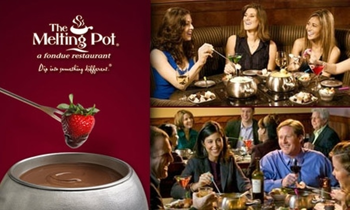 The Melting Pot - San Antonio: $25 for $50 Worth of Meltlicious Fondue and Drinks at The Melting Pot