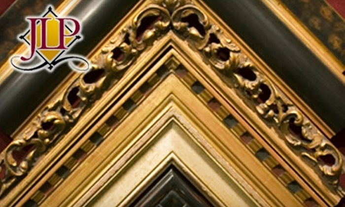 James L. Pierce Custom Framing - Multiple Locations: $50 for $100 Worth of Custom Framing at James L. Pierce Custom Framing