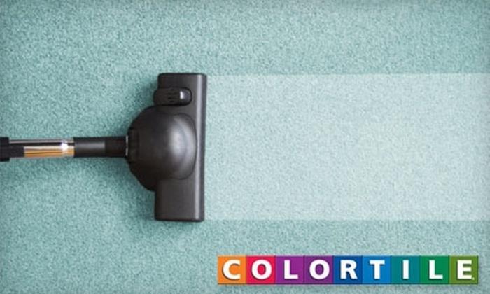 Color Tile of Salem - Salem OR: $79 for a Three-Room Carpet Cleaning from Color Tile of Salem
