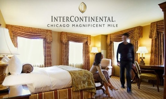 InterContinental Chicago - Near North Side: $99 for One-Night Stay in a Guest Room at the InterContinental Chicago (Up to a $200 Value)