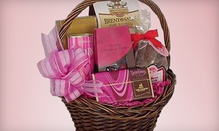 My Basket Case Gifts: $19 for a Chocolate Lover's Gift Basket from My Basket Case Gifts ($39.99 Value)