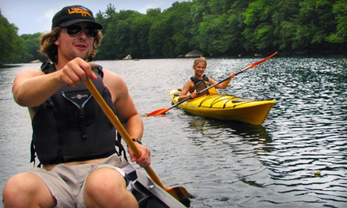 Boating in Boston - Multiple Locations: Canoe and Kayak Rentals or Adult Membership at Boating in Boston