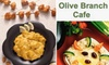 Olive Branch Cafe CLOSED - Downtown Oklahoma City: $10 for $20 Worth of Mediterranean Cuisine and Drinks at Olive Branch Cafe