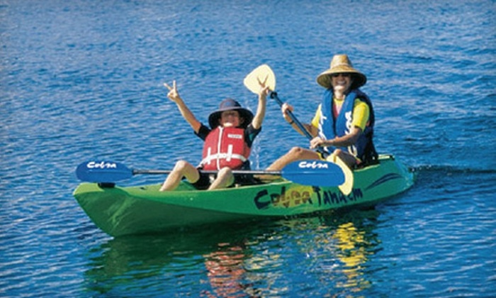 Miss Chris Kayak Rentals and Tours - Central Jersey: Two-Hour Single or Double Kayak Rental from Miss Chris Kayak Rentals and Tours in Cape May