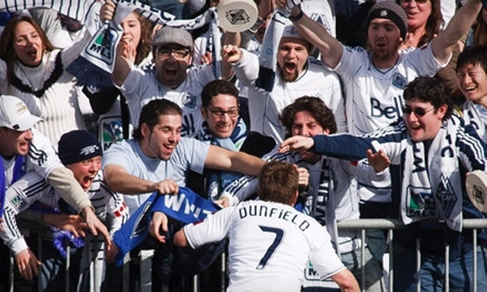 Vancouver Whitecaps FC - Vancouver: $54 for Two Aqua-Section Tickets to See Vancouver Whitecaps FC on May 18 at Empire Field, Plus a FIFA 11 Video Game ($132.50 Value)