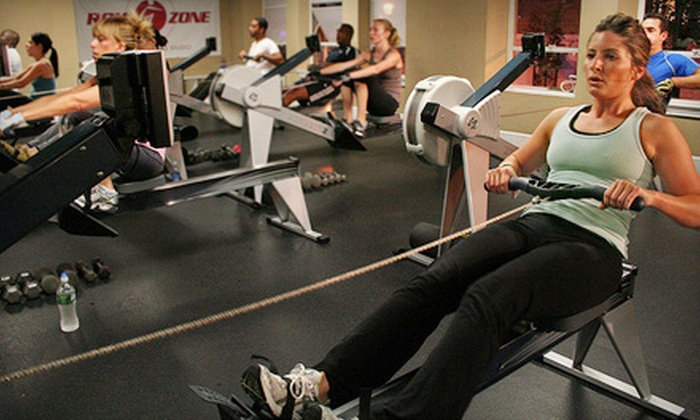 Row Zone - Multiple Locations: Five Workout Sessions or One-Week Summer Kids' Camp at RowZone. Five Options Available.