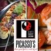 60% Off at Picasso's Café